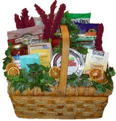 organic cancer get well gift basket