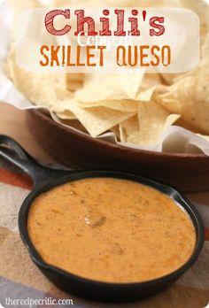 The Recipe Critic: Chilis Copycat Skillet Queso