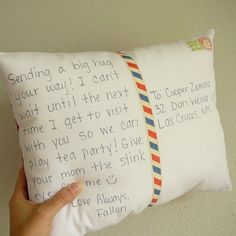 DIY Postcard Pillow « Diy « Lifestyle « RTR On Campus