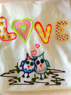 Kids ideas on pinterest t shirts puffy paint and hands Puffy paint shirt designs