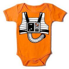 Rebel Fighter XWing Onesie Star Wars baby by GoGetYourGeekOn, $17.00