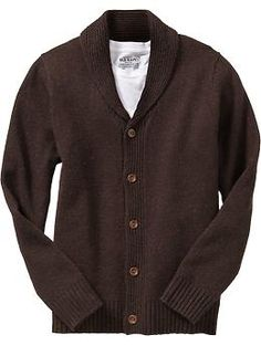 Men's Wool-Blend Shawl Cardigans | Old Navy