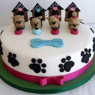 ... fondant puppies birthday birthday parties cakes cupcakes cake ideas