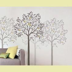 Cutting Edge Stencils - Large Fruit Tree Stencil