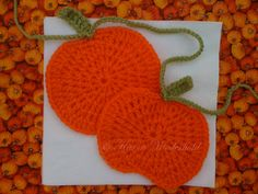 Ravelry: Pumpkin Time Garland pattern by Karen Wiederhold