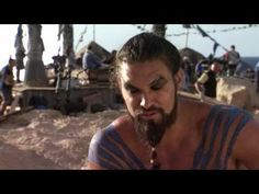 I basically watched Game of Thrones' first season because of Jason Momoa! He's one hot savage!