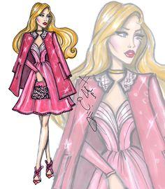 Disney Diva Fashionistas by Hayden Williams: Aurora