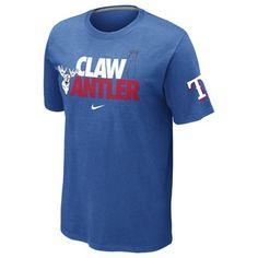 Texas Rangers MLB Local T-Shirt by Nike