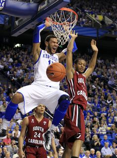 Photo Gallery: Game photos from Kentucky's win over South Carolina on Feb. 5, 2013