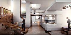Platform House  Notos  United States      Client: NTS Architects
