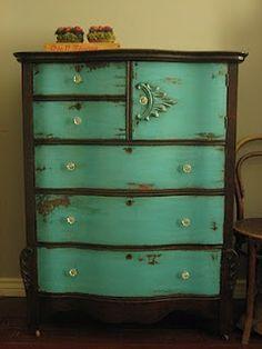 redo old furniture...