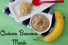 Quinoa Banana Mash on Weelicious