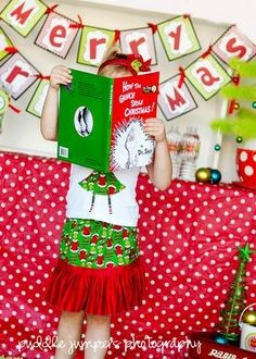 """""""Grinched Christmas"""" party theme from Catch My Party."""