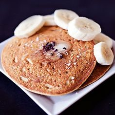 Lemon Chickpea Cornmeal Pancakes