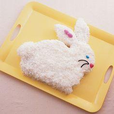 Pineapple-Coconut Bunny Cake Recipe #Easter