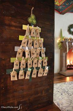 Christmas Tree DIY a