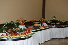 Wedding Fruit Tables #simplydelicious