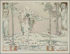 Jessie M. King — Love's Golden Dream — 1913