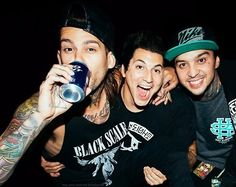 Mike Fuentes, Jaime Preciado, and Tony Perry