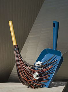 Big sweep - Denver Art Museum  by The artistic team of Coosje van Bruggen and Claes Oldenburg