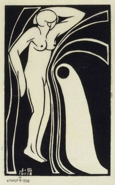 Title: Beauty and the Beast (Femme Nue)  Artist: John Bradley Storrs (1885-1956, American)  Year: 1918