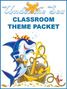 Under the Sea Classroom Theme - Back to School $