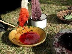 Tinte de Cochinilla en Chinchero
