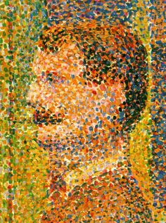 "George Seurat, ""La Parade"", 1889."