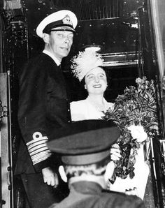 King George VI and the Queen