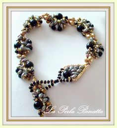 tutorials, la perla, bead bracelet, beaded bracelets, gardens, bead nanci, video tutori, jewelri