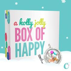 Limited Edition New Designer Business Package! Holly Jolly Box of Happy from Origami Owl! Get yours before they are gone! Just click on the pic to order!