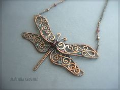 Wirework dragonfly