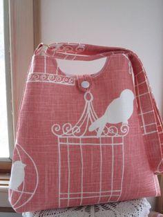 Market Bag Shoulder bag Adjustable Shoulder by Antiquebasketlady, $42.00