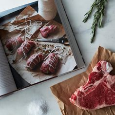 Good Meat cookbook on Food52: http://food52.com/provisions/products/592-good-meat-the-complete-guide-to-sourcing-and-cooking-sustainable-meat. #Food52