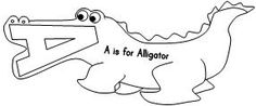 coloring pages animals alphabet youtube - photo#43