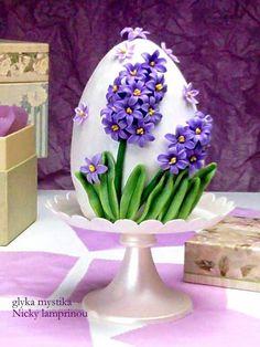 Sugar flowers Creations-Nicky Lamprinou: Πασχαλινή δημιουργία Βήμα - βήμα