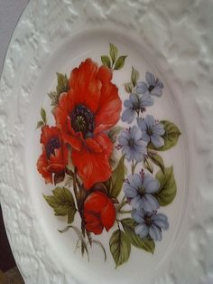 COALPORT Bone China FLORAL Salad Plate by maggiecastillo on Etsy, $8.48