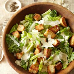 How to Make Croutons -- Super easy, and it makes me feel like Martha Stewart. That's a good thing!