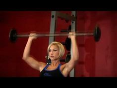 Seated Barbell Military Press Exercise - Shoulder Workout!