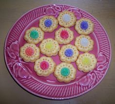spring flowers, drop cookies, butter cooki, flower cookies, parties, tea, spices, spice drop, treat