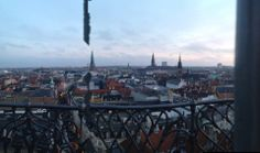 view from The Round Tower in Denmark :)