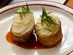 Re-Stuffed Potato Skins recipe from Robert Irvine.