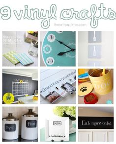 9 vinyl craft ideas for your