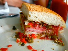 Game Day Party: 6 Muffaletta-Flavored Foods You Should Make. #superbowl #tailgating