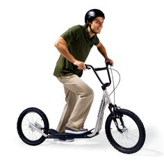 The Mountain Scooter - Hammacher Schlemmer