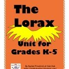 The Lorax Unit for K-5