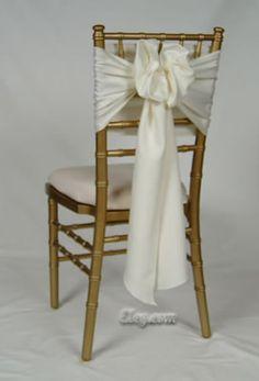 Chiavari Chair Sash Bow