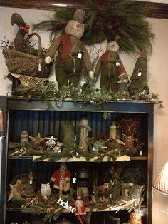 Snowmen, Santas, Christmas Trees, Winter Foliage, Country Home Decor
