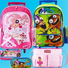Seleção das melhores bolsas e mochilas do mercado, com diversos temas para a volta às aulas do seu filho ser uma diversão. Compre já: www.Dinda.com.br