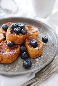 French Toast Nuggets - Adorable french toast nuggets made from mini french baguettes!